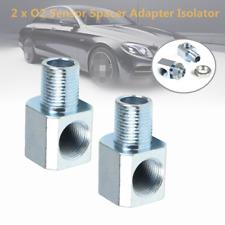 2PCS M18x1.5 Auto Exhaust 90-Degree O2 Oxygen Sensor Extender Spacer Adapter Kit