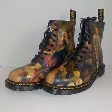 Dr Doc Martens PASCAL 1460 Boots WILLIAM HOGARTH Museum Collection MEN SIZE 12