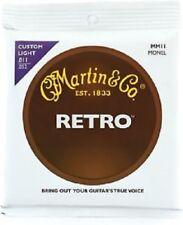 Martin MM11 Retro Monel Acoustic Guitar Strings - Custom Light 11-52