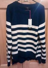 Autumn None Striped Jumpers & Cardigans for Women