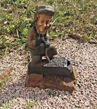 "Tom Clark Gnome Stokes with Coal Car #1132 Edition #266 7.25"" Cairn Studios"