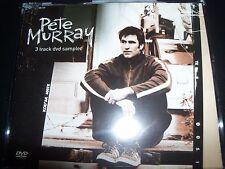 Pete Murray 3 Track DVD Sampler Australian DVD Promo – Like New