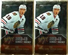 2012 - 2013 Upper Deck Series 1 Hockey Hobby Pack Two Pack (X2)