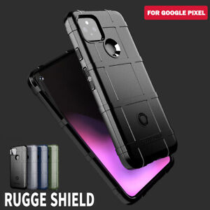 For Google Pixel 5 4A 5G 4 XL 3 3A XL Case Armor Rugged Shockproof Soft Cover