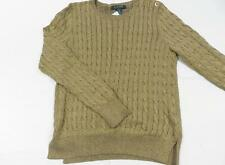 Crewneck Solid Jumpers & Cardigans Size Petite for Women