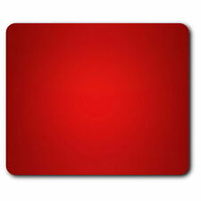 Computer Mouse Mat - Red Filter Colour Block Office Gift #15751