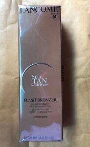 Lancome Flash Bronzer  Self-Tanning Leg Gel ( Tinted)  4.2 oz 125mL NEW Sealed