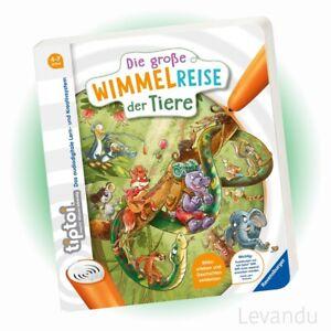 RAVENSBURGER tiptoi® Buch - Die große Wimmelreise der Tiere - Wimmelbuch