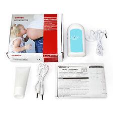 BabySound Monitor prenatal Doppler fetal, bebé monitor de corazón, latido cardíaco, gel libre