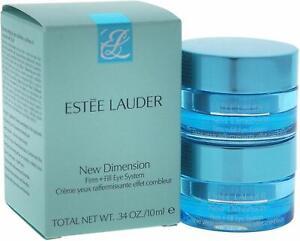Estee Lauder New Dimension Firm Plus Fill Eye System 0.34 oz/10 ml Full