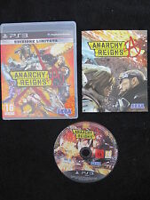 PS3 : ANARCHY REIGNS - Completo, ITA !