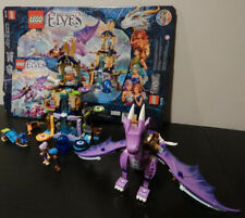 LEGO 41178 Elves The Dragon Sanctuary with Box & Instructions 99.8% Complete