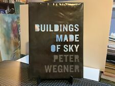 Peter WEGNER / BUILDINGS MADE OF SKY First Edition 2013 Large Coffee Table Book