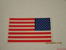 500-3x5 American Flag Vinyl Decals-No glue/adhesives.Apply to window-Made in Usa