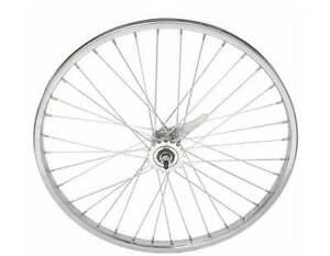 "BICYCLE STEEL REAR WHEEL 24"" x 1.75 X 12G HEAVY DUTY SPOKES COASTER BRAKE BIKES"