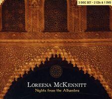 Nights From The Alhambra - 3 DISC SET - Loreena Mckennitt (2007, CD NUEVO)