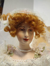 "UFDC 1997 ""Louise ""  Bride Doll by United States Historical Society  #429/1510"