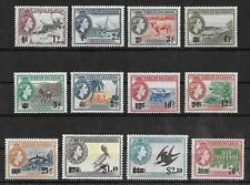 BRITISH VIRGIN ISLANDS 1962 Mint NH Complete Set SG #162-175  VF