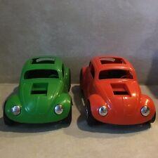 2 lots- Hawk Model Co.Vw Baja Bug Plastic Toy, Scale: 1/10, Vintage Usa 1970 yr.