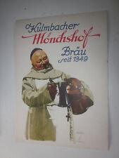 Hohlwein, Plakat, Kulmbacher Mönchshof Bräu, Bier, Brauerei, 1950er,  Werbung