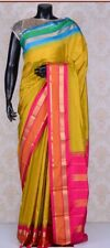 Indian  Silk saree in wedding Party Wear saree with readymade blouse