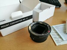 Sigma MC-11 Mount Converter Lens Adapter for Canon lens to Sony E-Mount