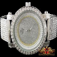 New Men's Diamond Maxx/JoJino/JoJo/Joe Rodeo 1 Row Bezel Genuine Diamond Watch