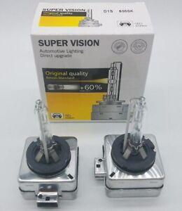 2x D1S D1R 6000K Diamond OEM HID Replacement Xenon Headlight Light Bulbs Lamps