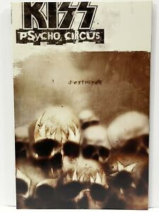 KISS Psycho Circus Destroyer Graphic Novel Excellent Condition