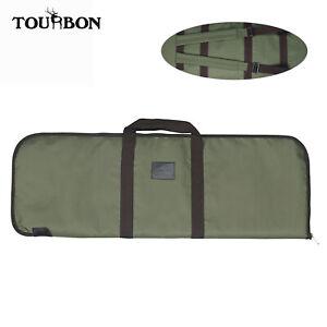 "Tourbon 36"" Tactical Gun Range Bag Large Hunting Backpack Padded Shotgun Case"