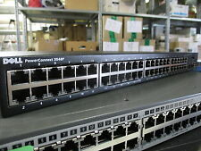 Dell PowerConnect 3548P Managed 10/100 + 1000 PoE Switch 48x RJ45 + 2x SFP N499K