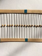 Ceramic Axial capacitor 0.022uF 100V X7R part number SA101C233KTA 20pcs Z966