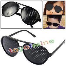 Noir Yeux Ophtalmologie Vision améliorer la formation des yeux exercice Lunettes