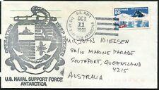 USA - 1991 ANTARCTICA - DEEP FREEZE 'US NAVY  FPO AP 96599 MCM' Cancel [A6640]