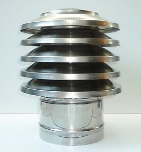 Chimney Attachment Stainless Steel Chimney Cover Fireplace Patch Chimney Hood