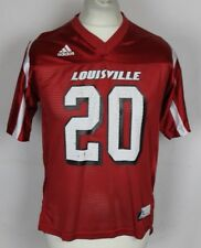 #20 LOUISVILLE CARDINALS AMERICAN FOOTBALL JERSEY YOUTHS LARGE ADIDAS RARE