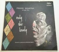 Frank Sinatra Sings For Only The Lonely Capital Orange Label Vinyl LP VG+