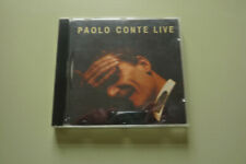 PAOLO  CONTE : LIVE - CD ALBUM