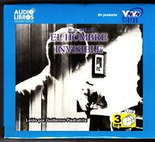 El Hombre Invisible / The Invisible Man by H. G. Wells (Spanish) 3 Audio CDs-NEW