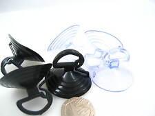 BLACK Cancella Ventose Plastica/Gomma Finestra Auto ventose con arresto Orecchio