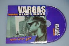 Vargas Blues Band – Amapola Negra - Madrid- Chicago Live. CD-Single/Promo