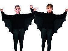 Vampir Flügel Kinder Fledermaus Cape schwarz Halloweenkostüm Karneval Fasching