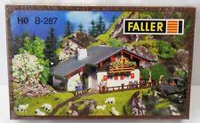 FALLER B-287 H0 Berghaus Alpenhaus Top gebaut