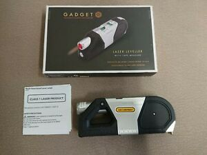 Gadget Co Laser Leveller With Tape Measure And Spirit Levels