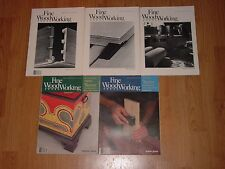 Fine Woodworking Magazine Issues 45 to 49 1984 woodwork wood