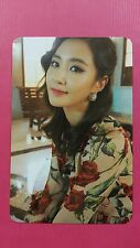 SNSD YURI Official Photo Card 5th LION HEART #1 Girl's Generation Photocard