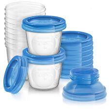 Contenitori da 180 ml per Latte Materno feed me Set da 10 Pezzi Philips Avent