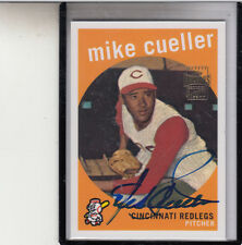 """2001 TOPPS ARCHIVES MIKE CUELLAR """"DIED APR 2,2010/ORIOLES/ASTROS"""" AUTOGRAPH AUTO"""