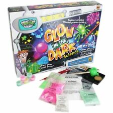 Glow In The Dark Weird Science Set Experiment Activity Chemistry Kit R09-0026
