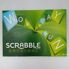 Scrabble Original by Mattel 2012 Complete